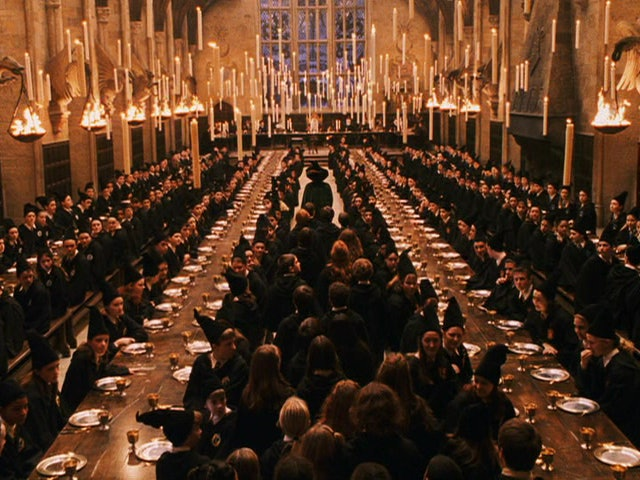 Hogwarts filming location catches fire