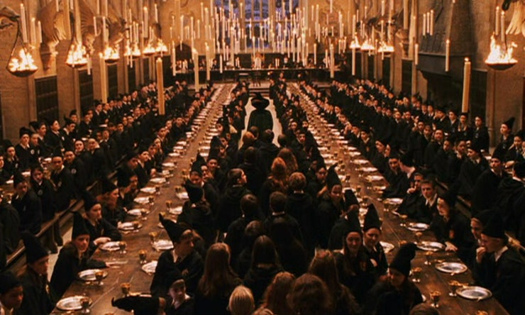 The Hogwarts Great Hall From Harry Potter Catches On Fire Adding To An Already Rough Week