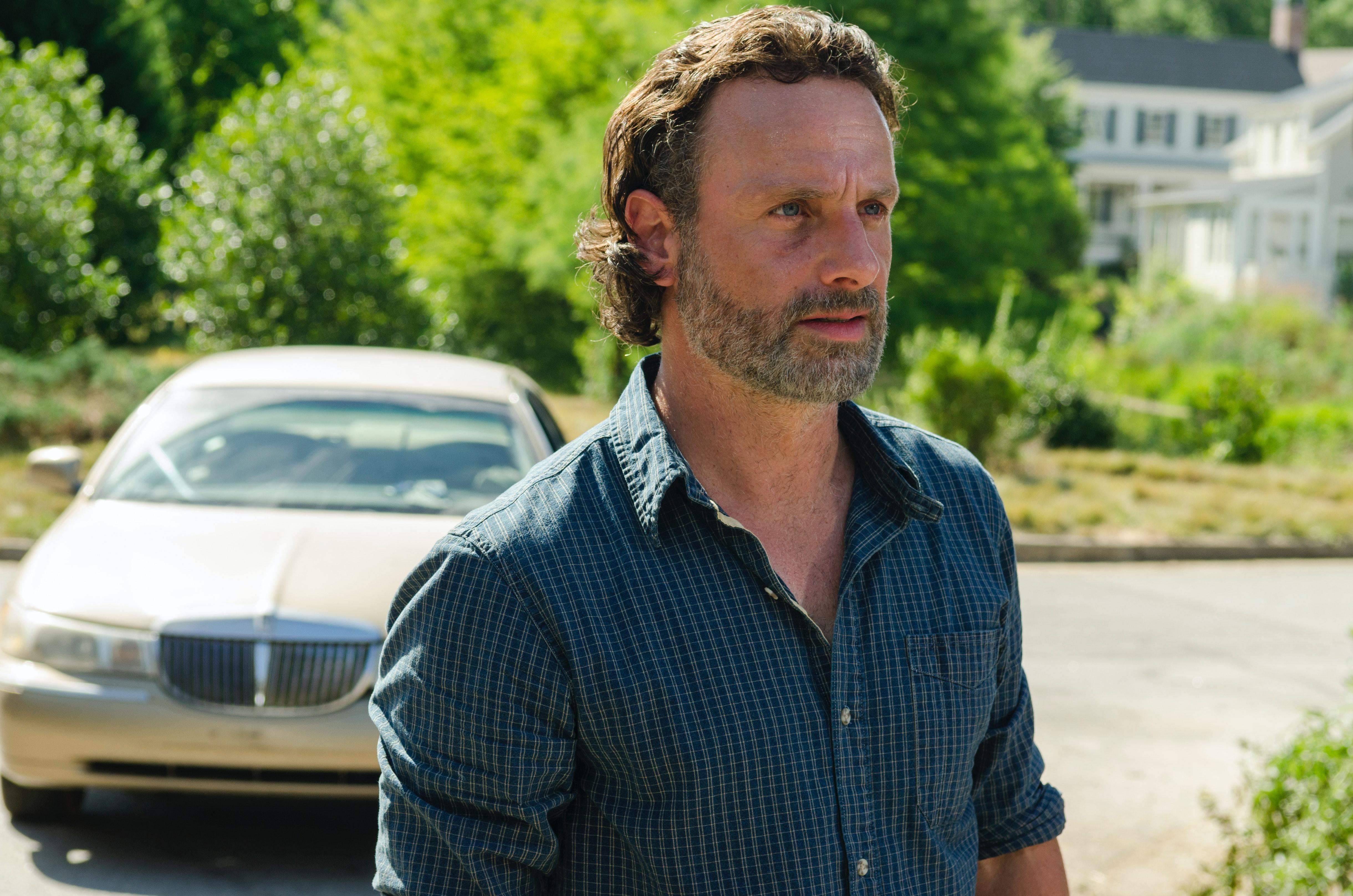 'Walking Dead' Star Andrew Lincoln Breaks Down 'Quiet Heroism' of Judith Revelation