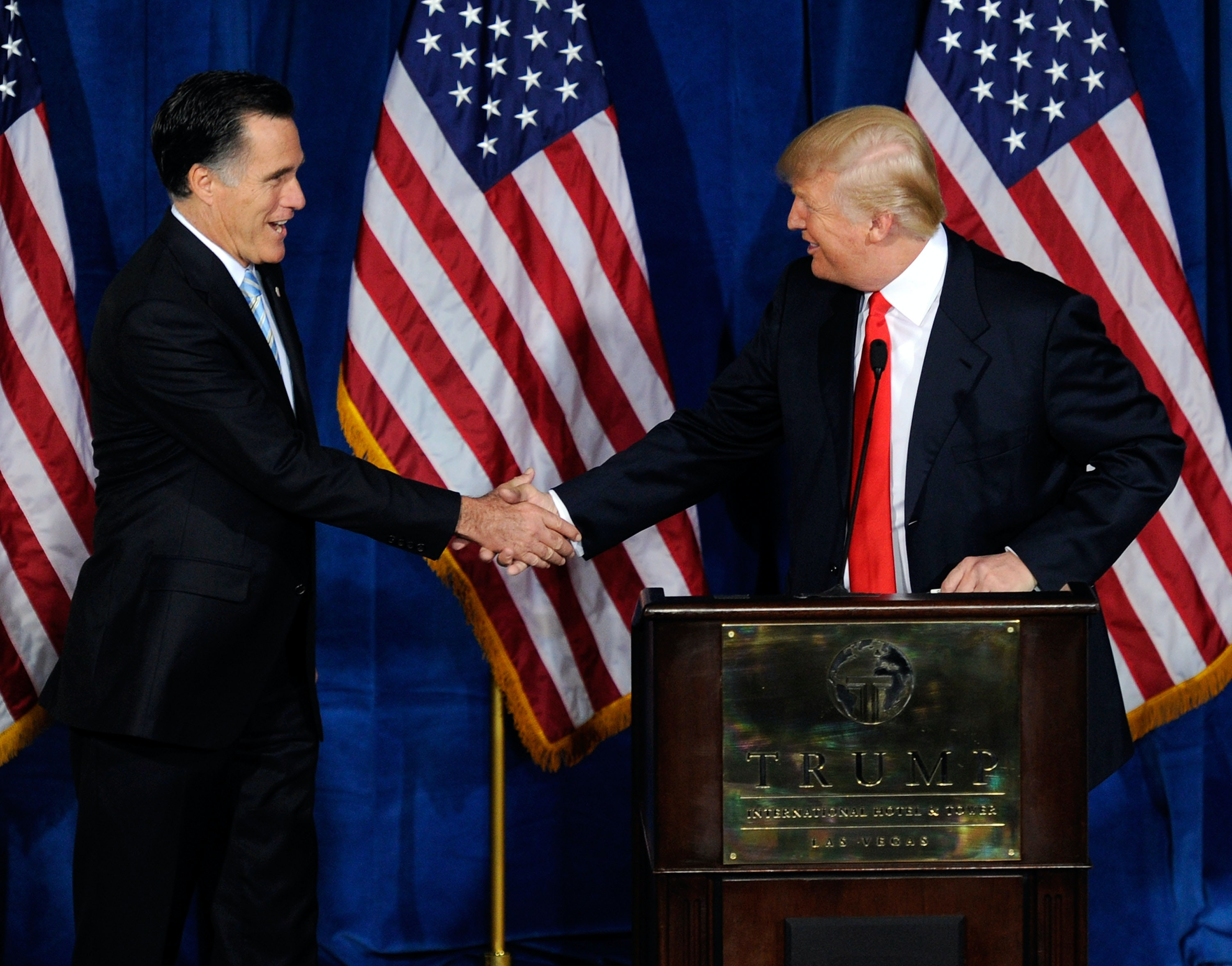 Donald Trump, Mitt Romney hold 'far-reaching' talk on world affairs