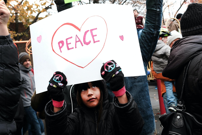 Beastie Boys' Adam Horovitz joins NYC swastika protest