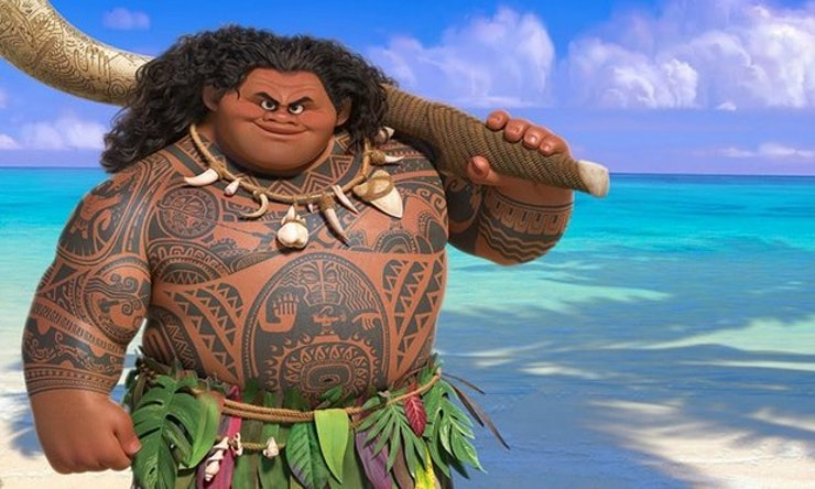 all of maui 39 s tattoos in 39 moana 39 show how culturally important the demigod is. Black Bedroom Furniture Sets. Home Design Ideas