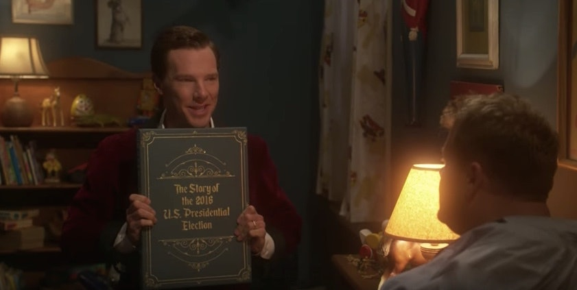 Benedict Cumberbatch Reads Scary Election Bedtime Story To James Corden