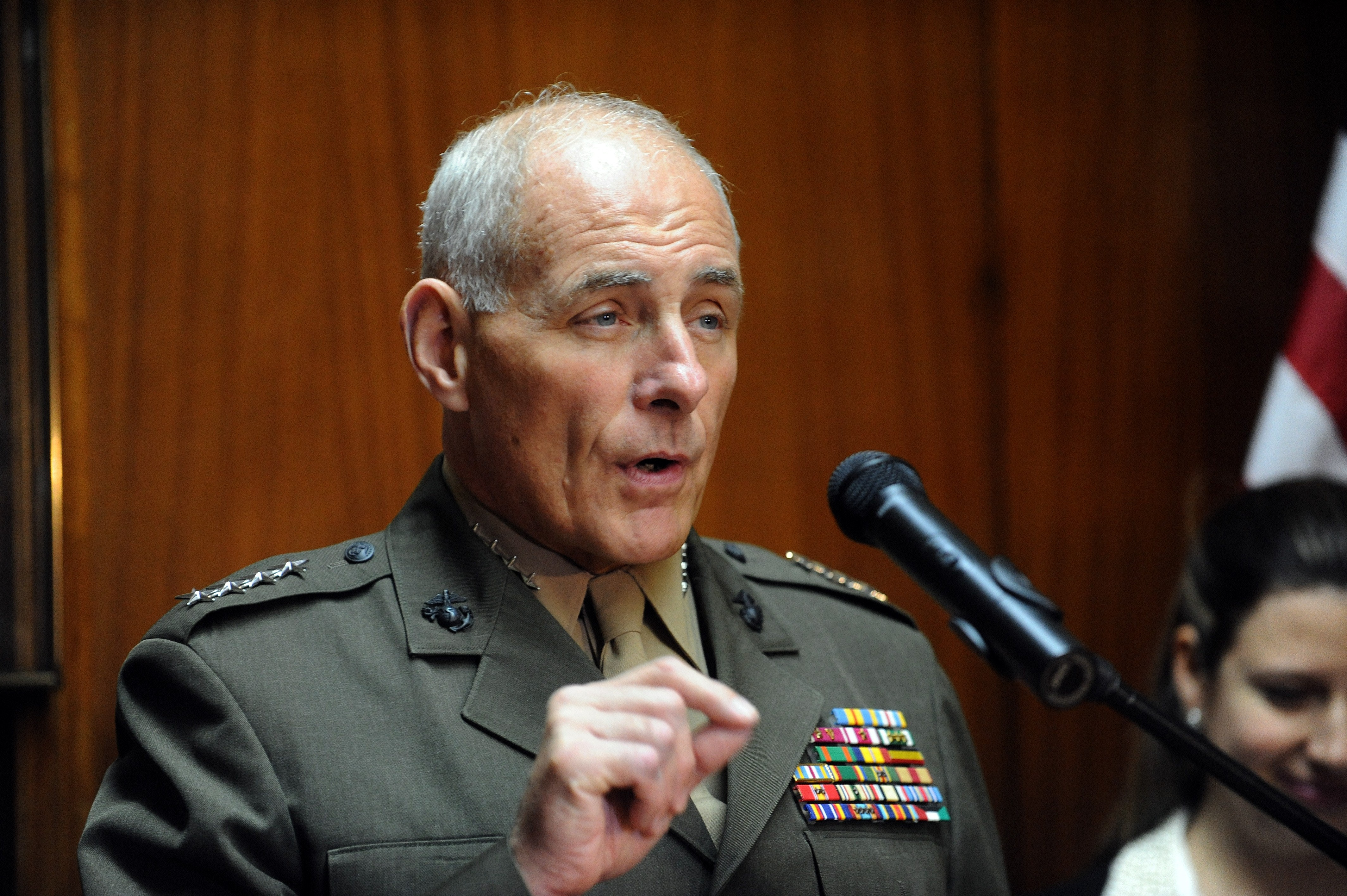 Retired Gen. Kelly to be nominated as homeland security secretary