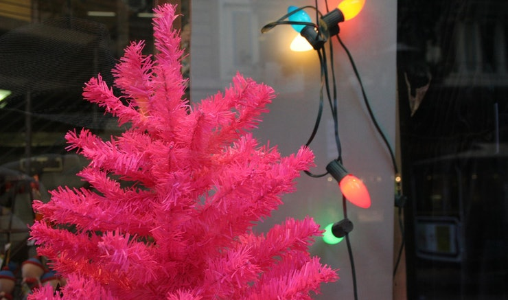 Colorful Christmas Trees Are Real Here To Brighten Up