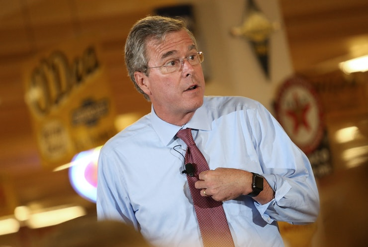 Jeb Bush Quotes Magnificent 7 Jeb Bush Quotes So Terrible You'll Wish He Were Joking