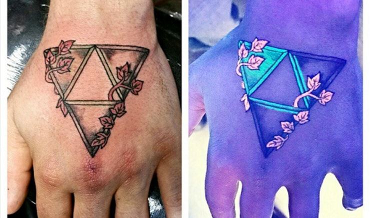 Do black light tattoos cost more than regular ink for Standard ink tattoo company