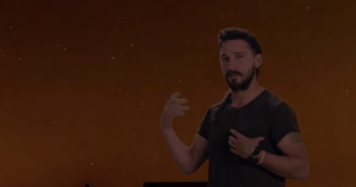 """Shia LaBeouf's """"Just Do It"""" Speech As A Pop Song Is ..."""