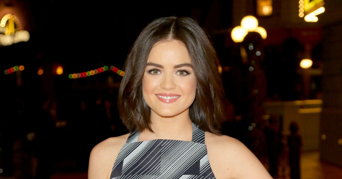 Lucy hale 39 s bob looks a little different you need to for A little bit off the top salon