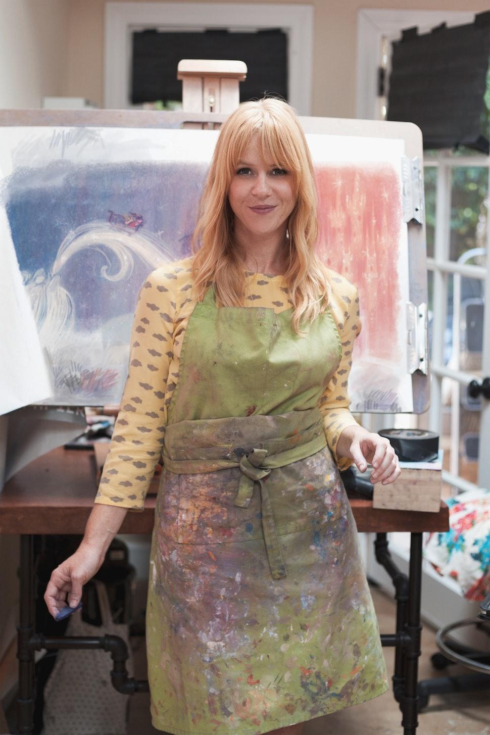 disneys frozen artist claire keane debuts childrens