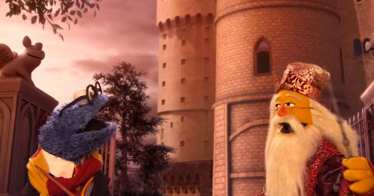 Sesame Street S Harry Potter Parody Quot Goblet Of Cookies