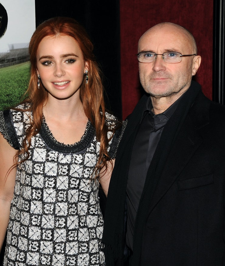 Lily Collins' Famous Dad, and 30 Other Celebrities You ...