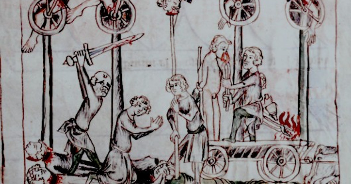 7 Incredibly Disturbing Execution Methods From The Middle Ages (You Really Should Not Read This)