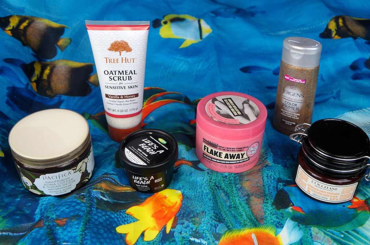 The Very Best Body Scrubs For A Delicious Smelling Soft