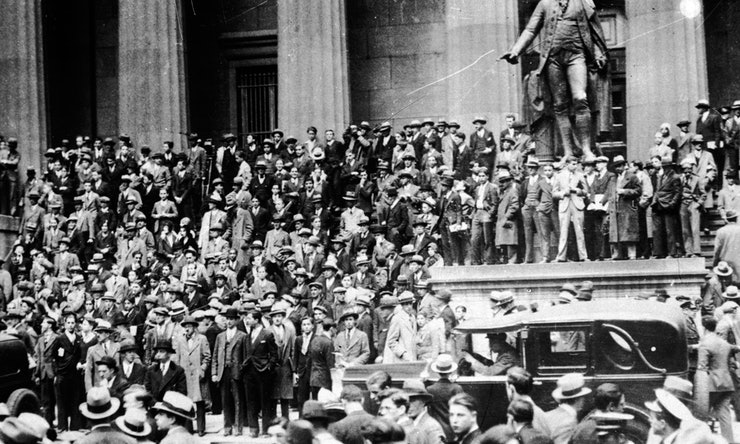 12 Scary Photographs Of The 1929 Wall Street Crash That ...