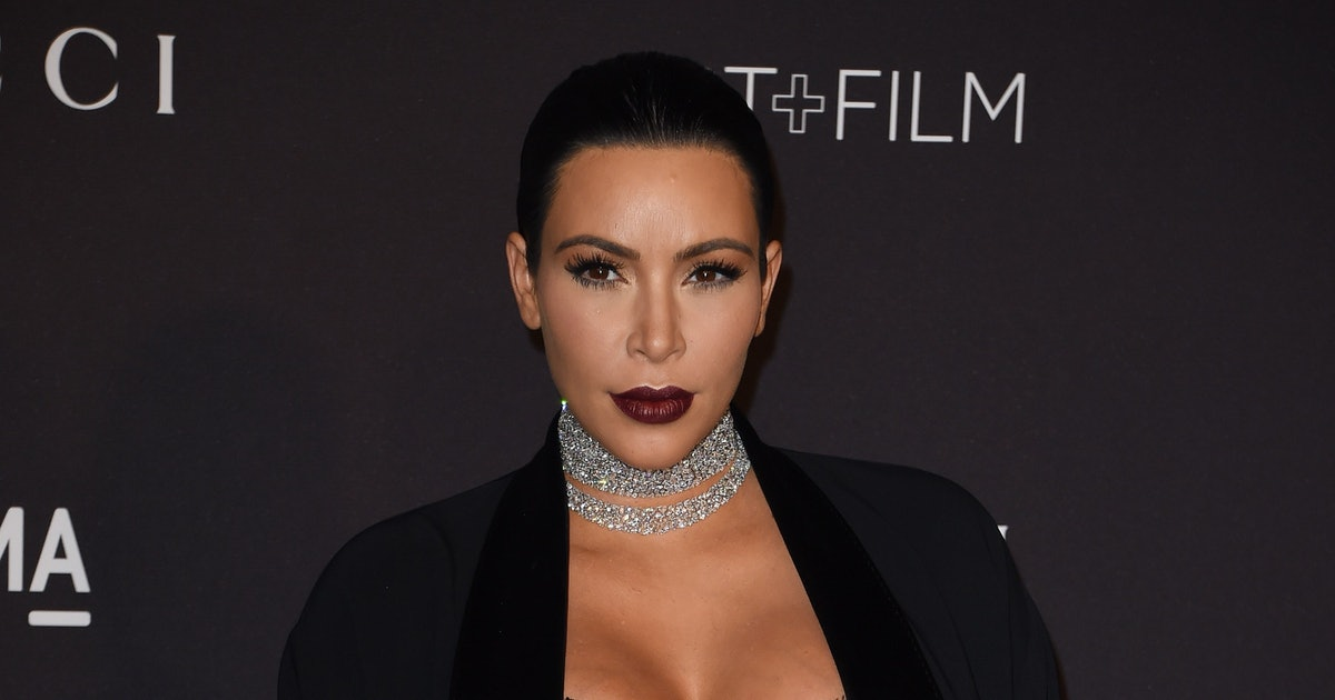 Kim Kardashian Posts Naked #TBT Pic From Photo Shoot She
