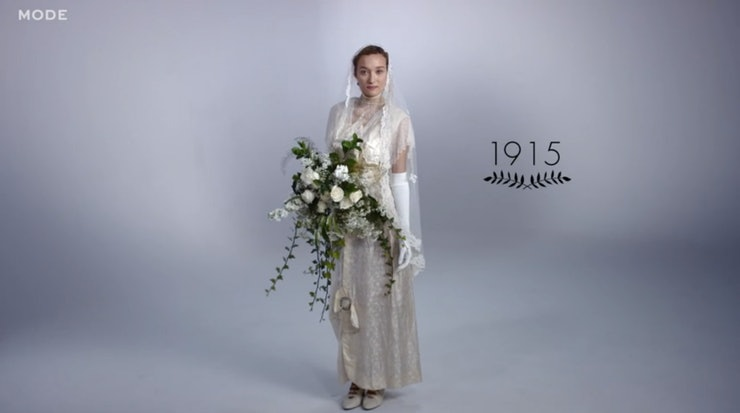 articles years wedding gowns shows that some bridal styles classics video