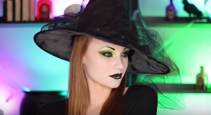 7 last minute witch makeup tutorials for halloween that