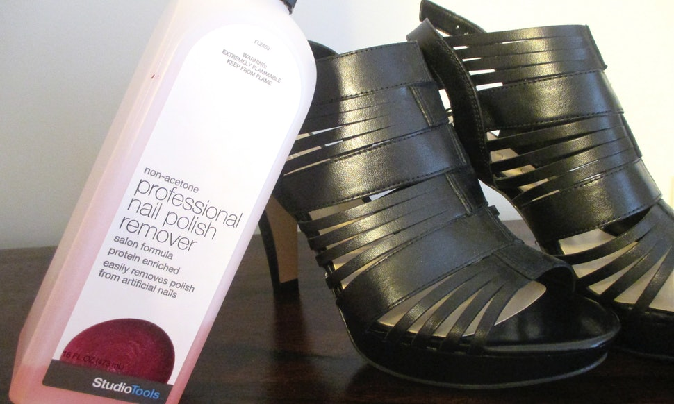How To Clean Your Shoes With Household Products Because Nail Polish Remover Isn T Just For Your