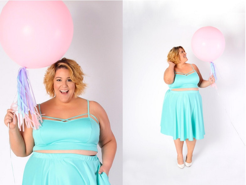 Pastel colors dress for debut party