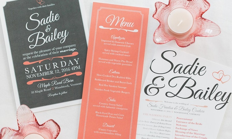6 wedding invitation stationery hacks that will save you money stopboris Gallery