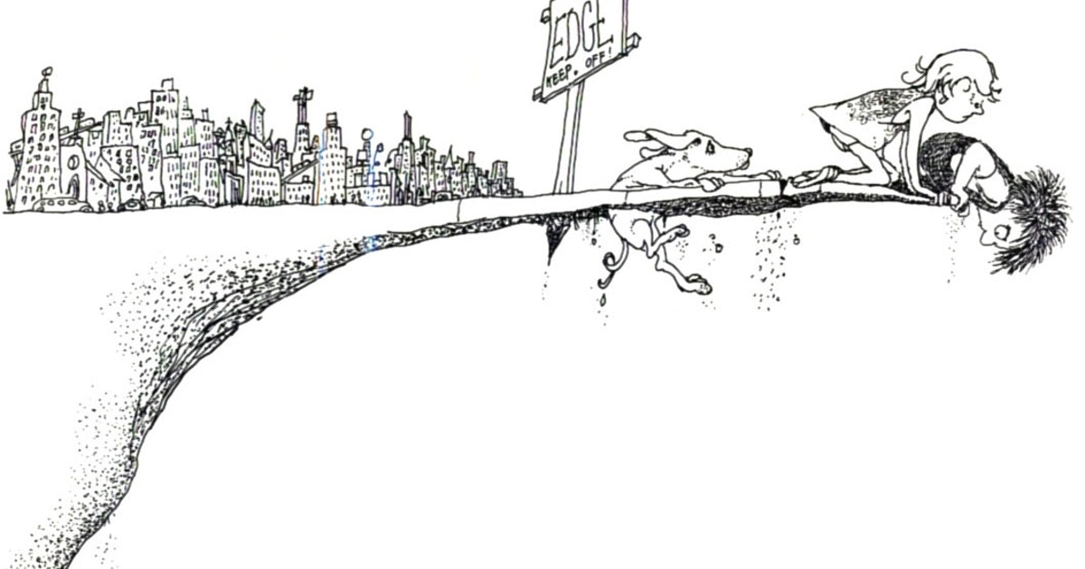 Shel Silverstein Cartoons: Shel Silverstein's 'Where The Sidewalk Ends' Still Has