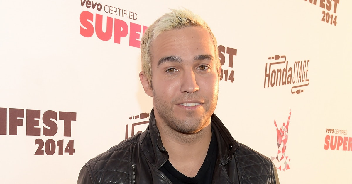 Pete Wentz Dyed His Hair Hot Pink Proving That Guys Can