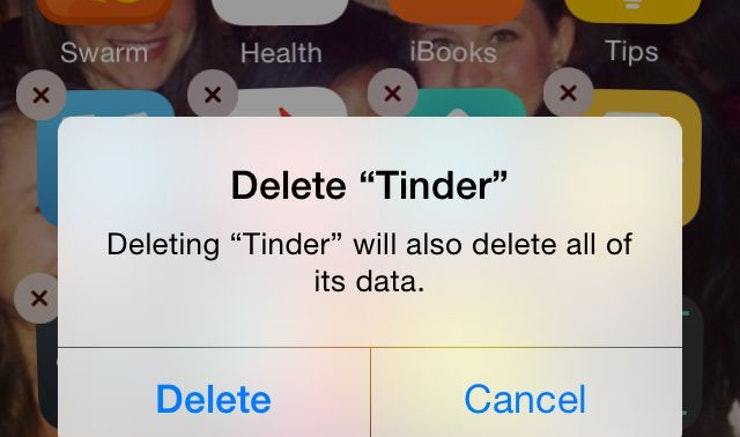 Why i deleted dating apps