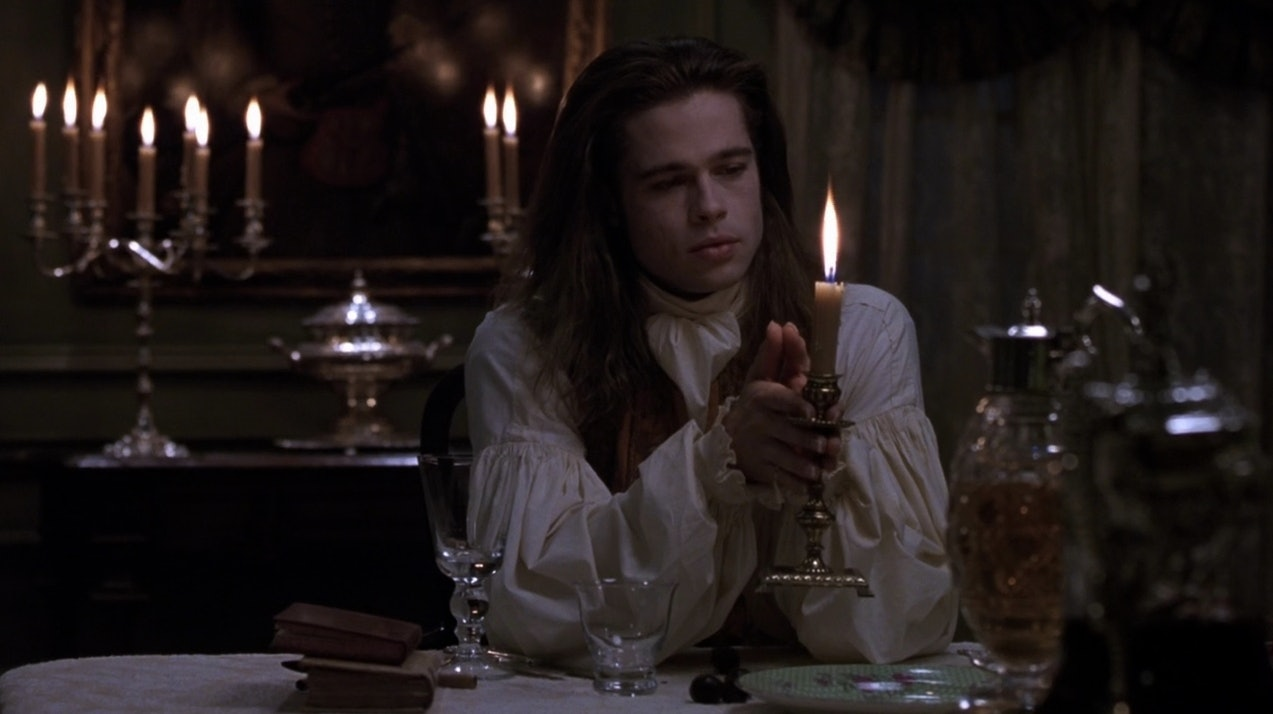 Brad Pitt Interview With The Vampire Hair