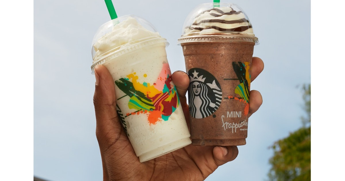 how much does a starbucks mini frappuccino cost this delightful summer treat is fabulously. Black Bedroom Furniture Sets. Home Design Ideas