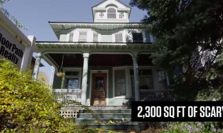 Trulia S Haunted Open House Video Is The Best Halloween