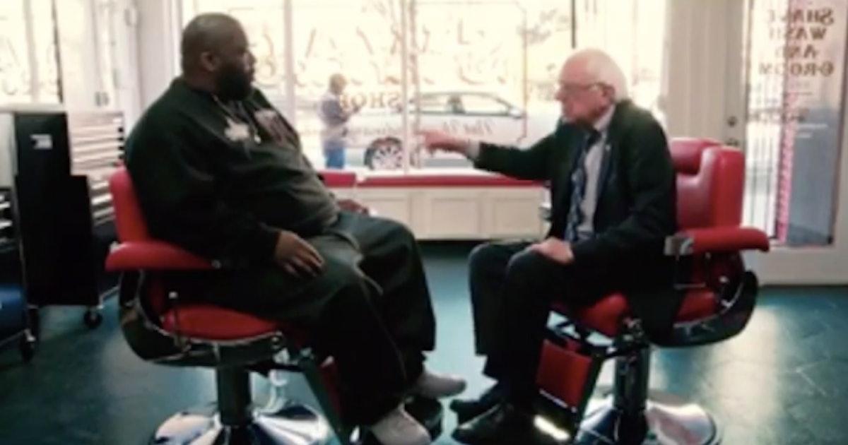 bernie sanders killer mike talk shop at barbershop to. Black Bedroom Furniture Sets. Home Design Ideas