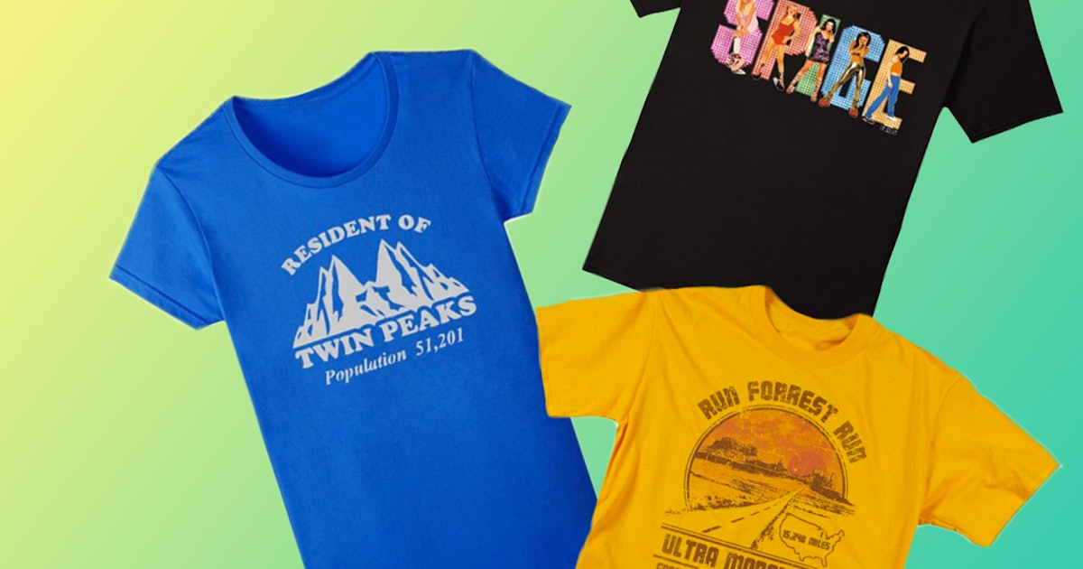 Throwback 90s fan girl shirts that look so much cooler now for Schoolboy q girl power shirt