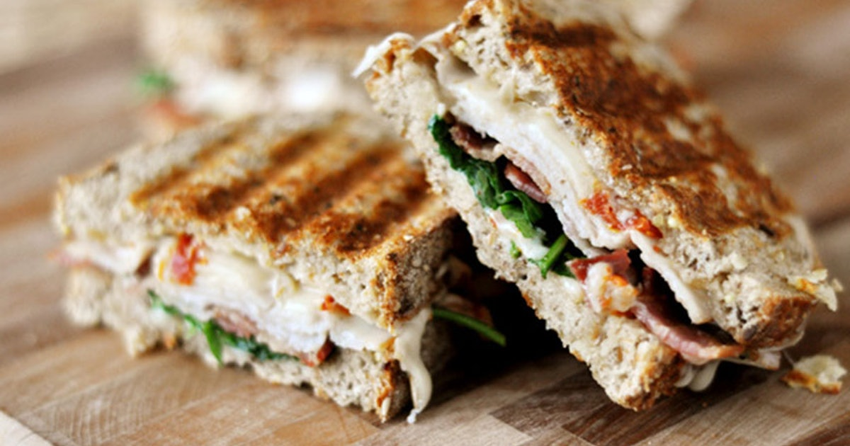 12 Panini Recipes That Will Inspire You To Buy A Panini Press Right ...