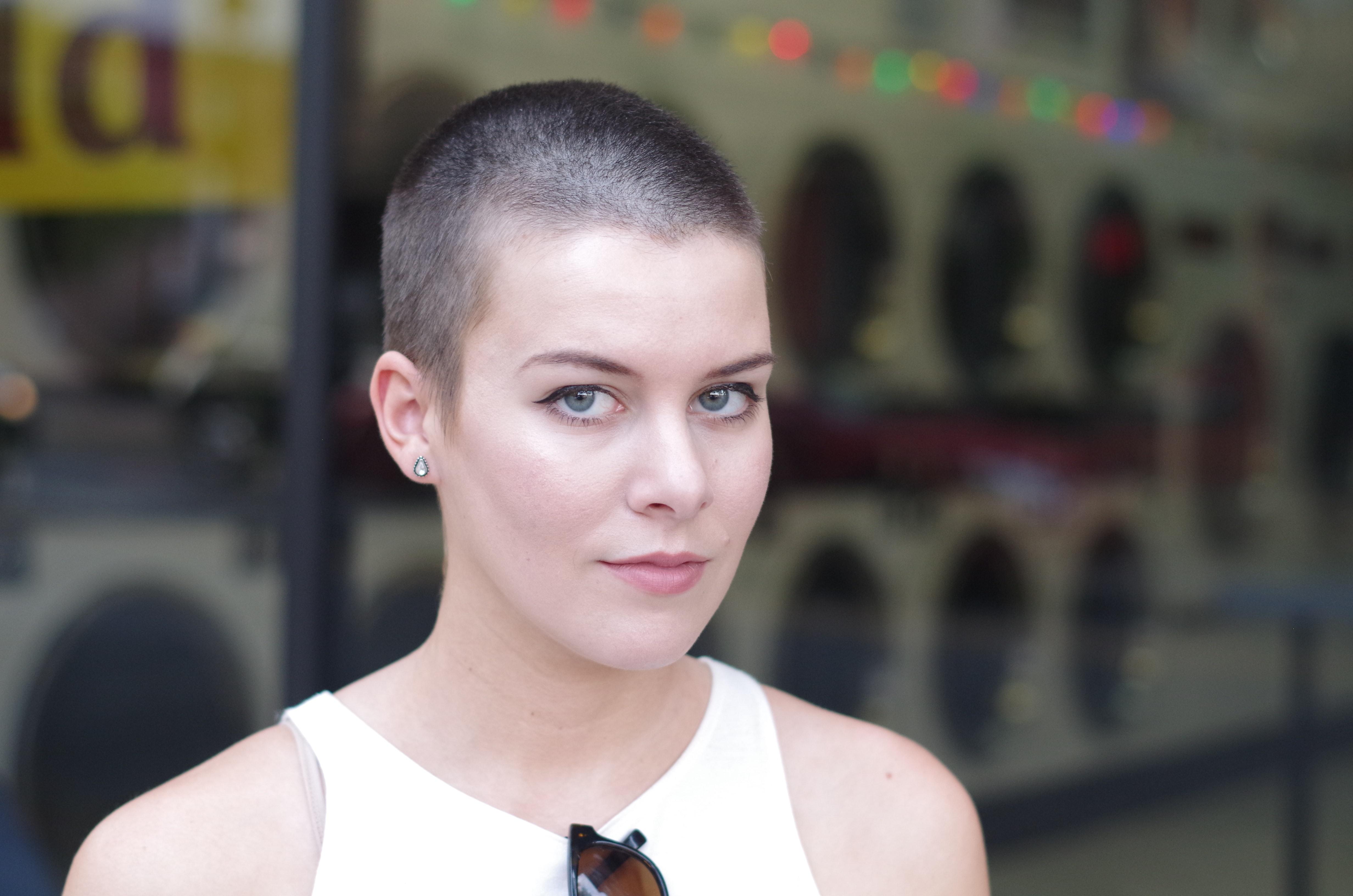 Girl on girl shaved