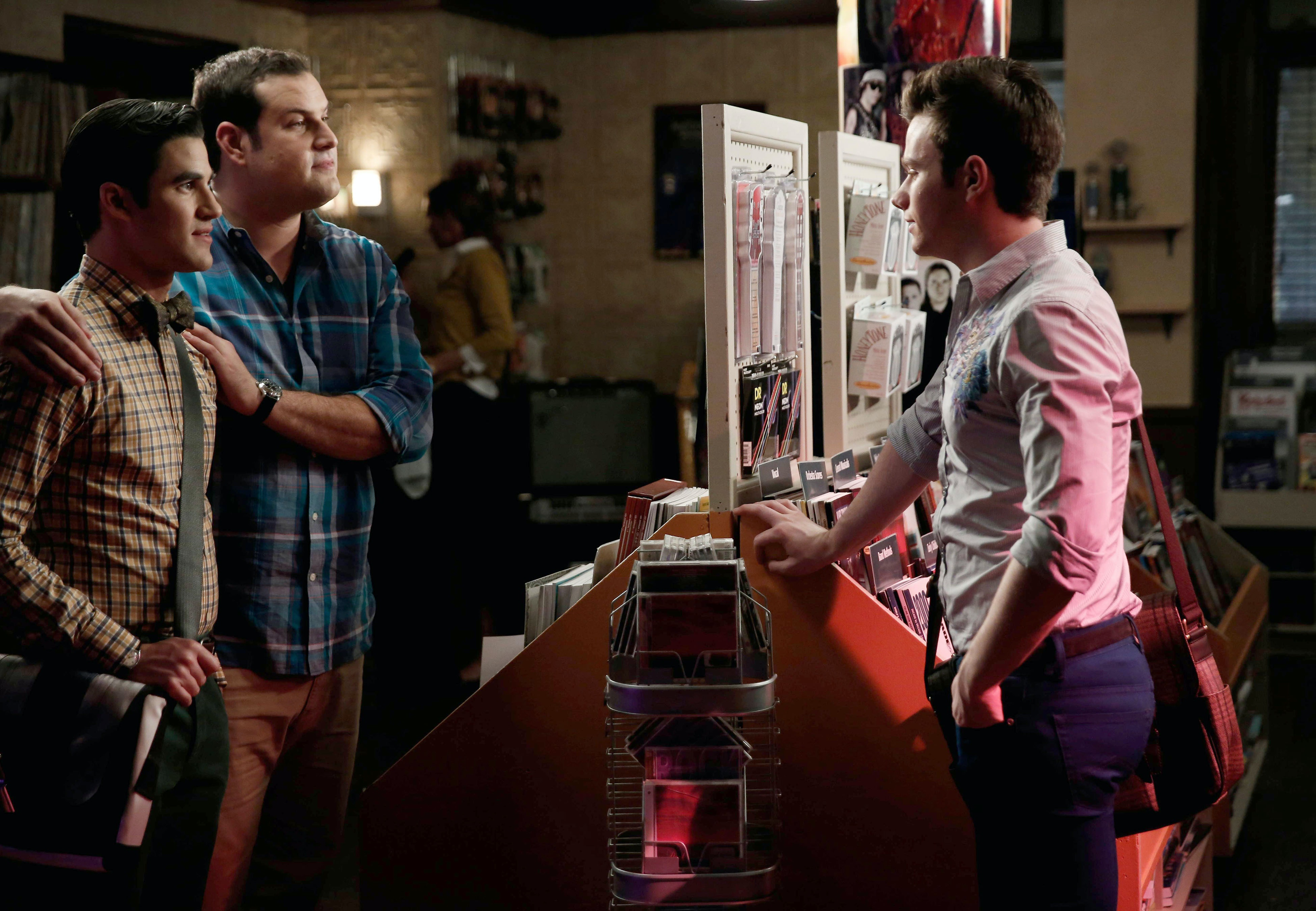 Glee On Dating Is Who Blaine