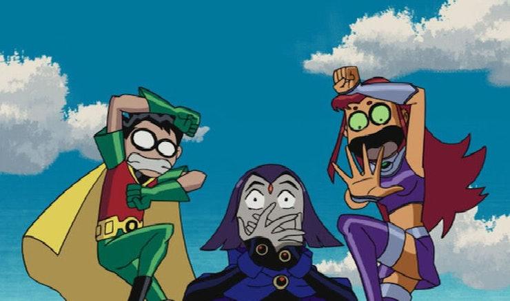 Show The Teen Titans Were 8