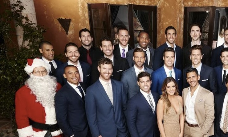 Who Is Santa In The Bachelorette Cast Photo Lets Solve Seasons First Mystery