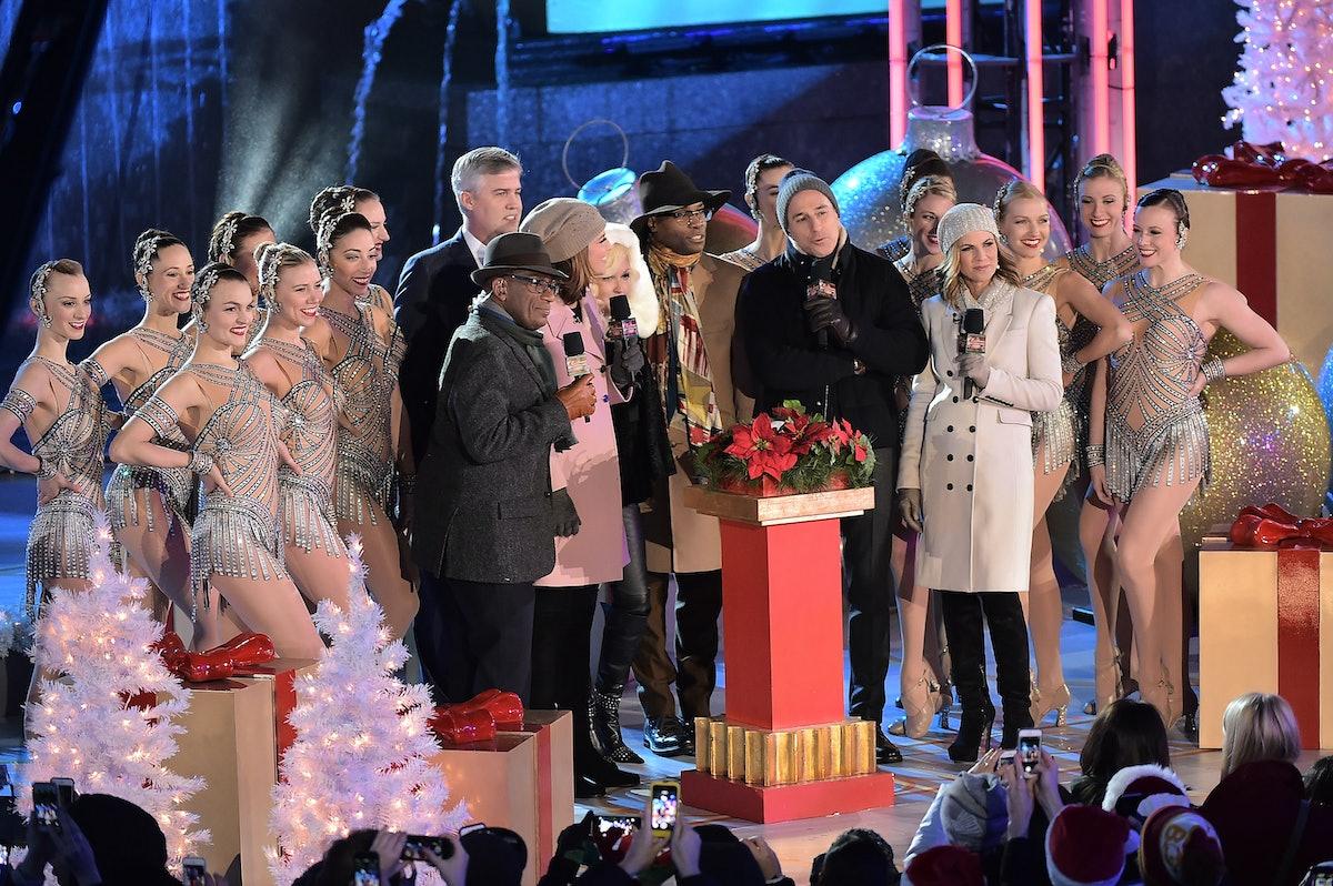 Rockefeller Center Christmas Tree Lighting Performers