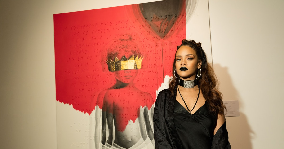 Rihanna 39 S New Album Is Called 39 Anti 39 The Cover Art Is