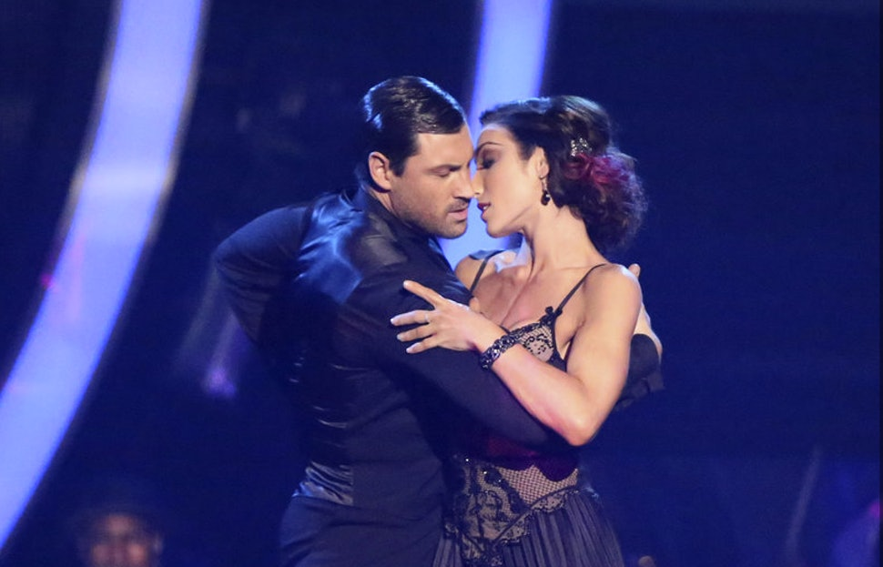 Meryl And Maks Dating Couple Kiss On Dancing With The: 'DWTS' Maks Chmerkovskiy & Meryl Davis Are In Love & Here