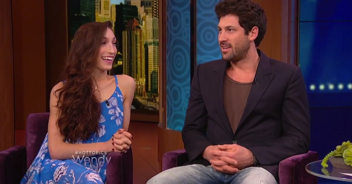 Maksim Chmerkovskiy Meryl Davis Talk DWTS Win Dating Rumors