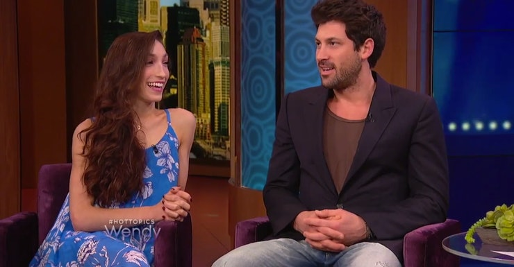 Meryl Davis Boyfriend 2014 Rumors Dancing With The Stars: 'DWTS' Maksim Chmerkovskiy & Meryl Davis Deny Dating