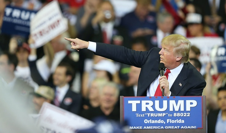 Did Donald Trump Supporters Do A Nazi Salute? Photos Of Supporters ...