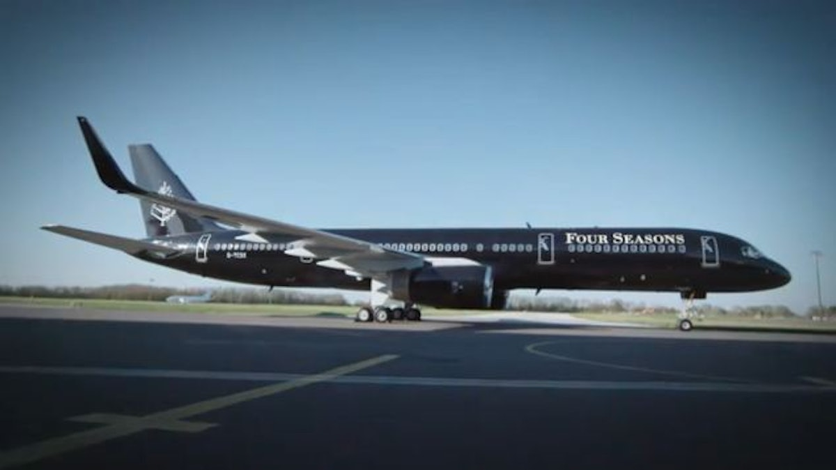 Four Seasons39 Private Jet Is Pretty Much How You Would Imagine Beyonce Tr