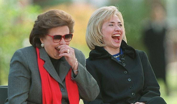 5 Women Who 39 Ve Influenced Hillary Clinton As A Leader