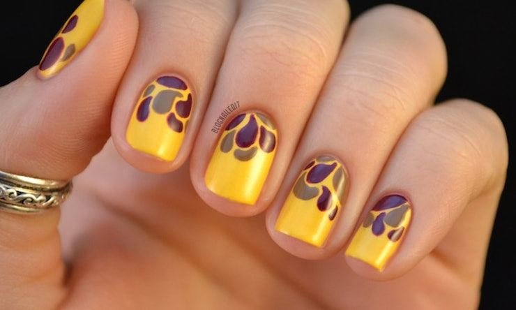 9 fall nail art ideas that are more exciting than your basic 9 fall nail art ideas that are more exciting than your basic orange manicure prinsesfo Gallery