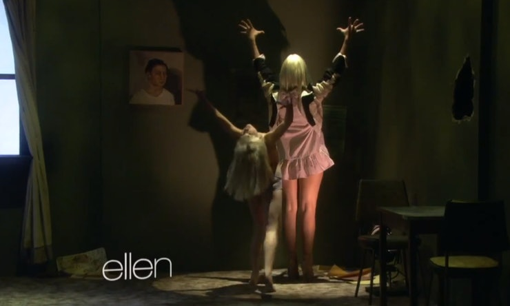 10 moments in sia maddie zieglers chandelier performance on 10 moments in sia maddie zieglers chandelier performance on ellen that will give you chills video aloadofball Gallery