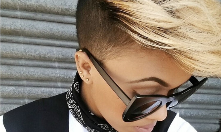 43 Women With Super Short & Buzzed Hair Who Define Their