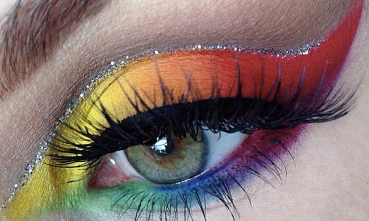 13 Rainbow Eye Makeup Looks From Instagram That Ll Make